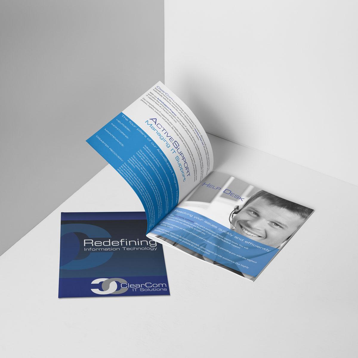 ClearCom IT - Corporate Brochure Design