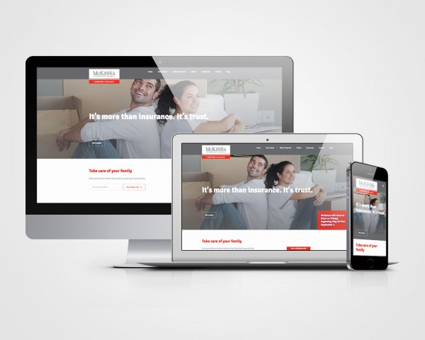 McKenna Insurance - Responsive Website