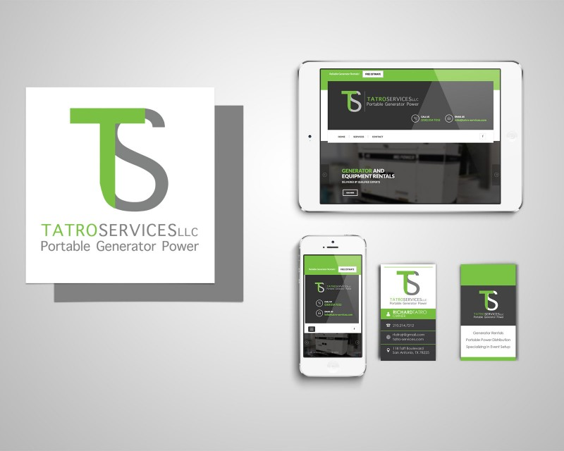 Tatro Services - Branding and Website